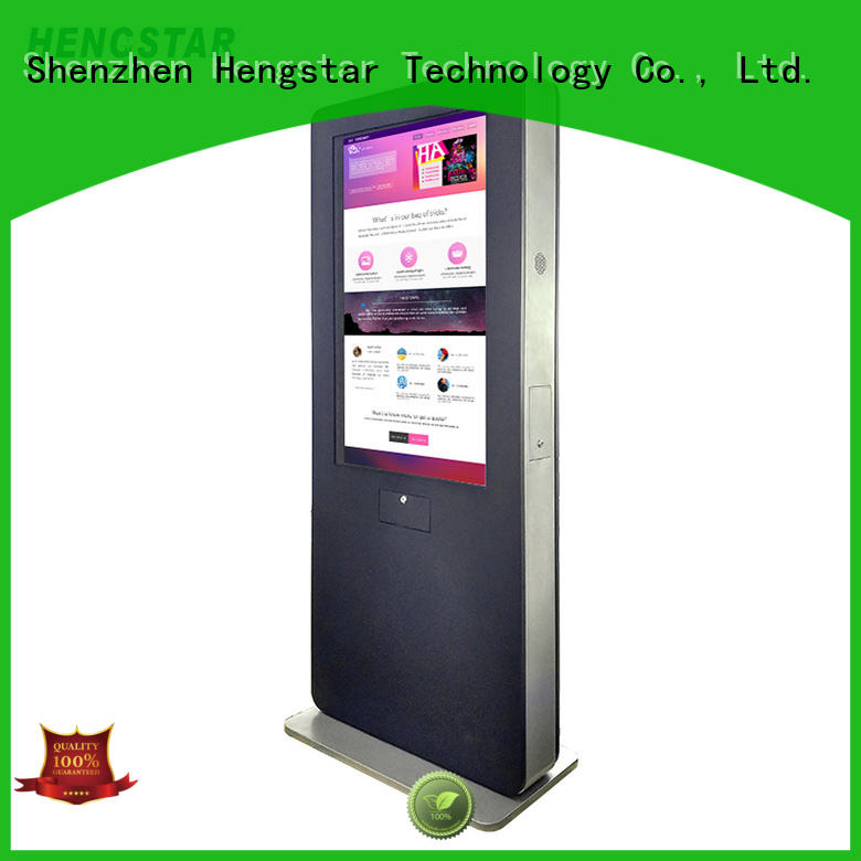 Hengstar digital outdoor digital signage customized for tablet PC