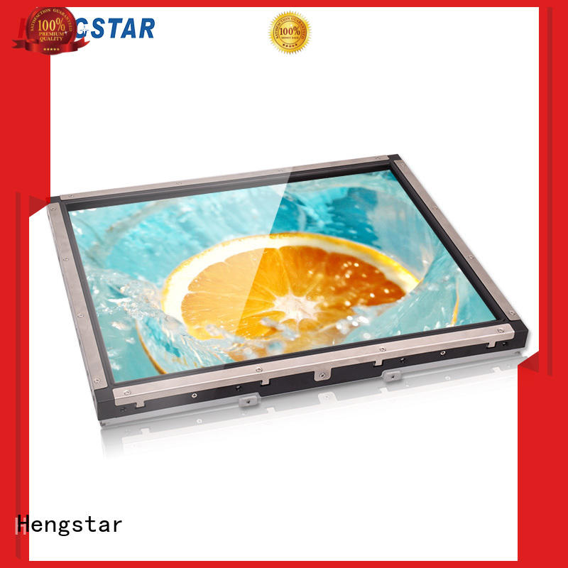 Hengstar stable open frame touch screen frame for smart device