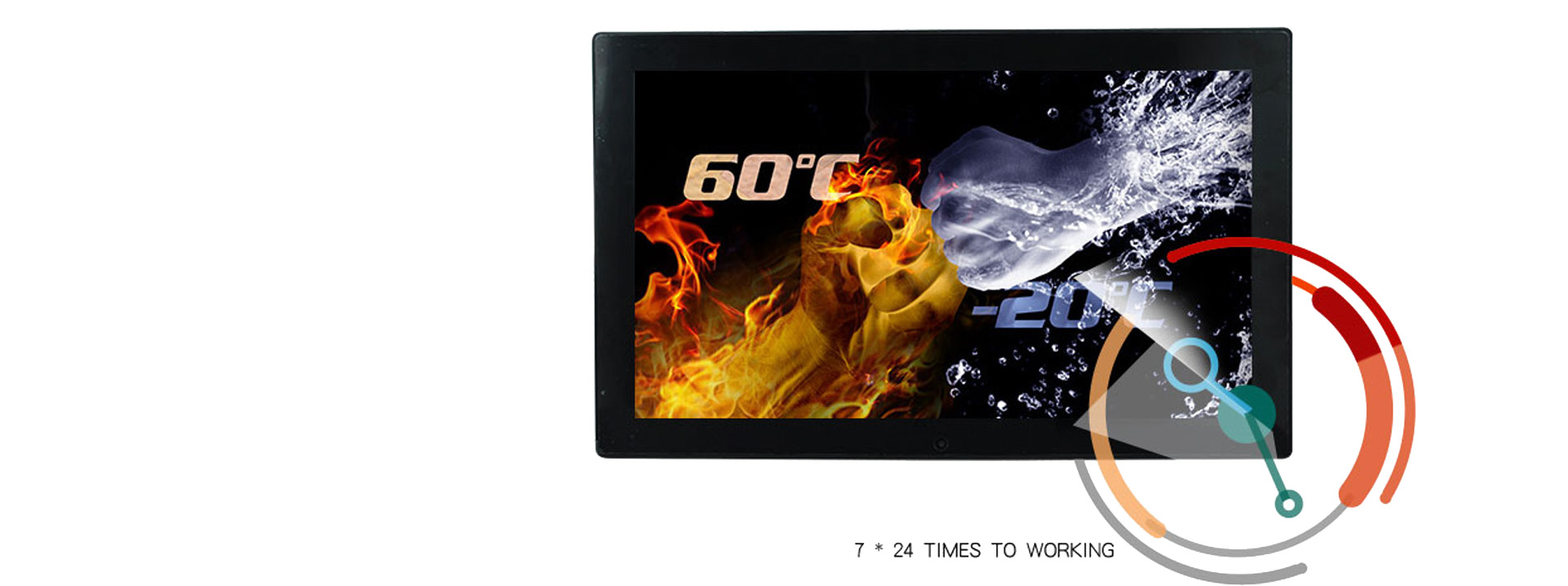 Hengstar -Andriod Poe Wall Mount Tablet Pc With Led Light | Panel Pc Factory-4