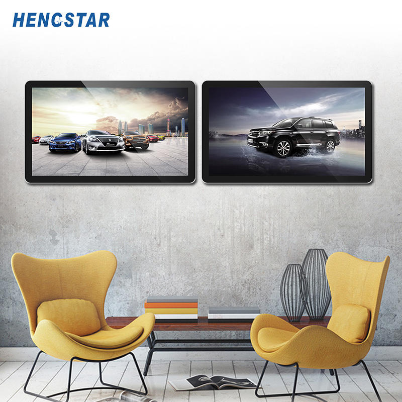 Wall Mounted Digital Signage Wifi 3G 4G Lcd Advertising Media Player