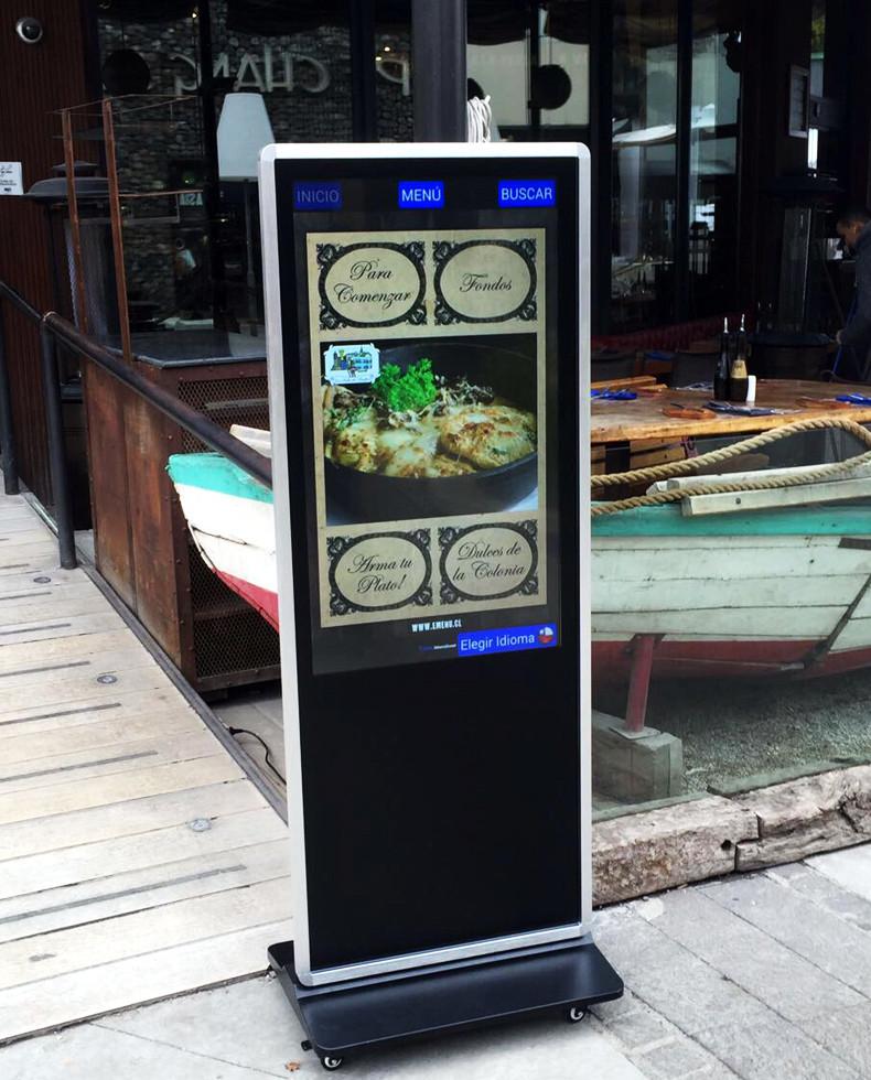 Hengstar -High-quality Floor Standing Vertical Advertising Display Digital Signage-11