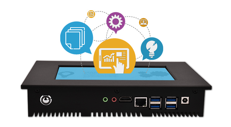 Hengstar -Intel Celeron Processor Quad Core Multi Touch Fanless Computer-2