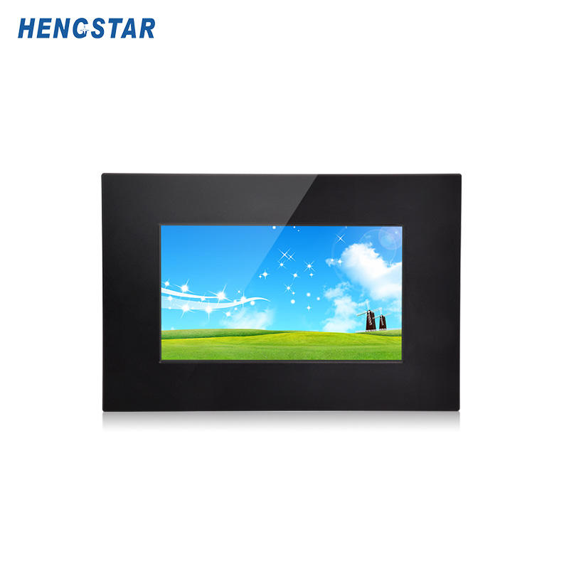 IP65 Rack mount / VESA / Embedded mount / Panel Mount Touch Screen LCD Monitor With VGA + DVI