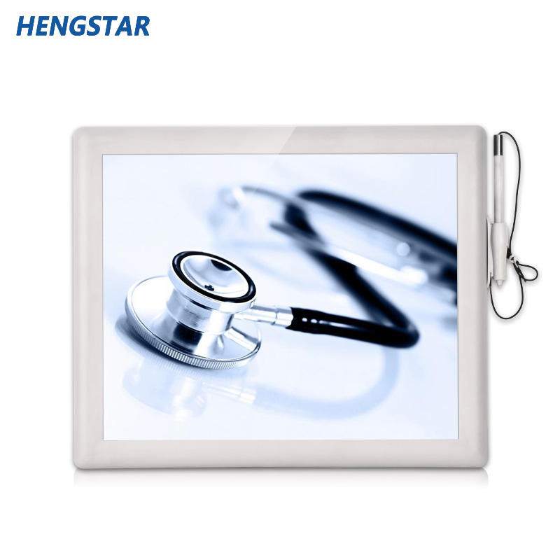 ABS+PC Plastic Case 5 wire resistive touch screen medical monitor HSTM  Series