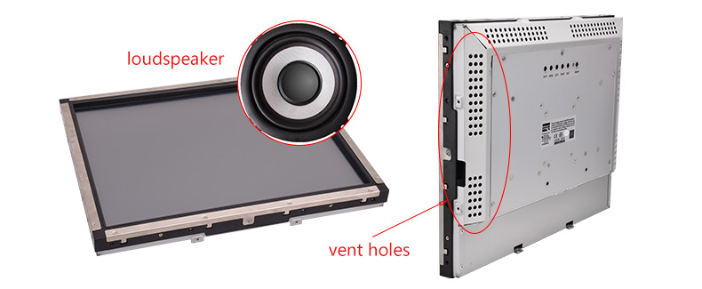 Hengstar -Frameless Monitor | Oemodm Resistive Touch Screen Monitor Industrial Open