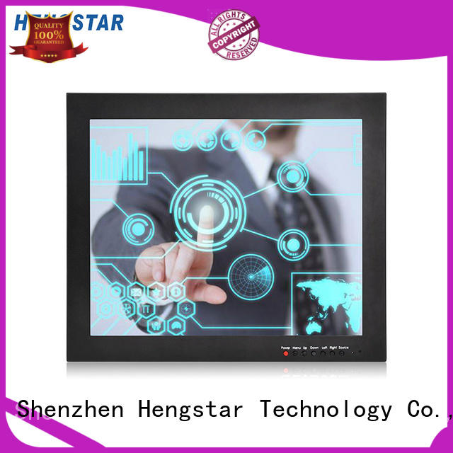 Hengstar approved industrial monitor design for PC