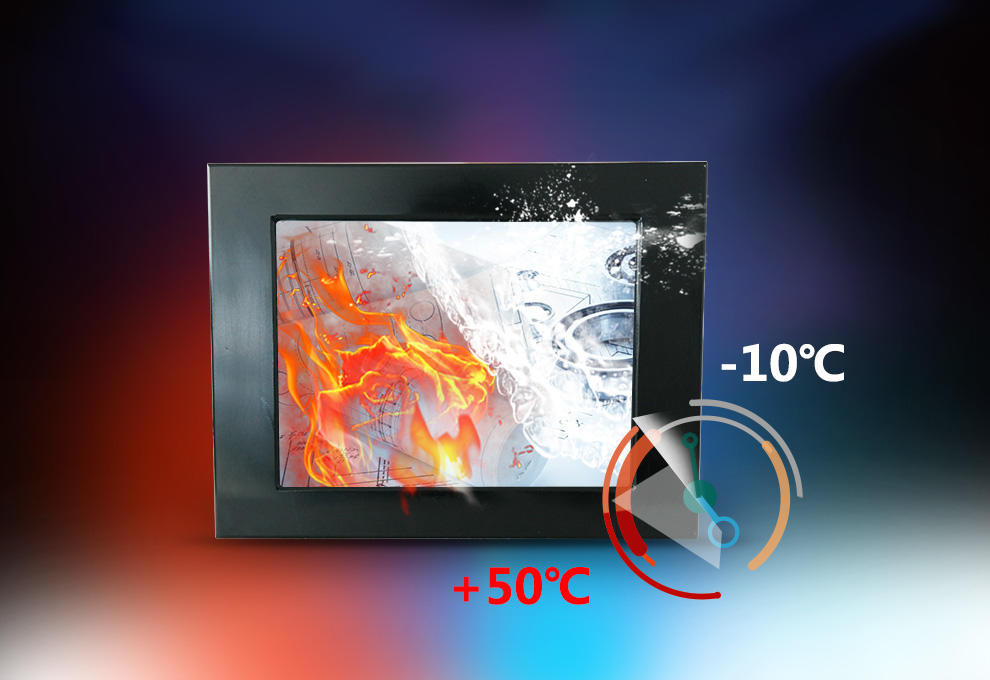 Hengstar -Professional I3 I5 I7 Cpu Industrial Panel Pc 5-wire Resistive Touch Screen-2