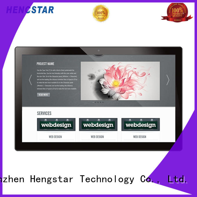 Hengstar sturdy industrial panel pc manufacturers factory for computer