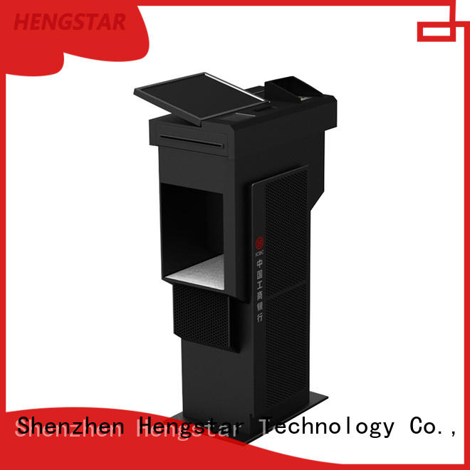 Hengstar hot selling self service kiosk touch for tablet PC