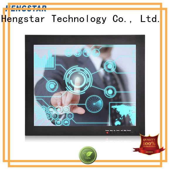 panel touch monitor industrial monitor vesa Hengstar