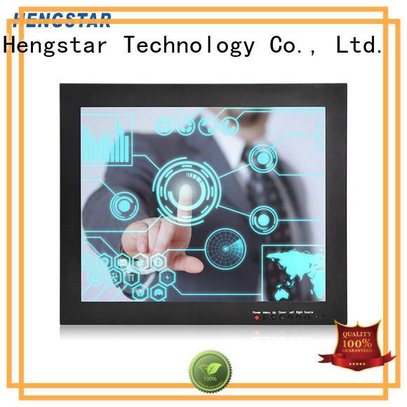 panel touch monitor industrial monitor vesa Hengstar
