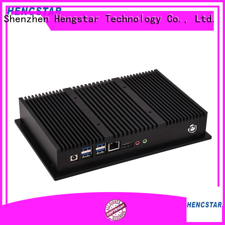 multi fanless mini pc directly sale for computer Hengstar