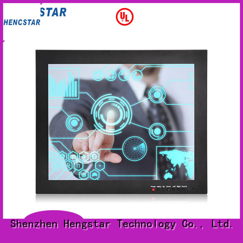 ip65 industrial touch screen monitor design for smart device Hengstar