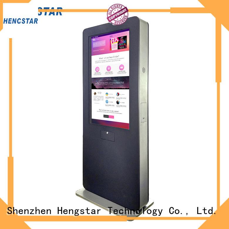 Hengstar Brand nits outdoor digital signage totem signage supplier