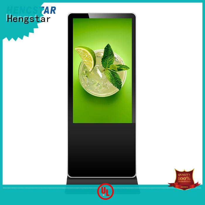 advertising screen display display hsds Warranty Hengstar