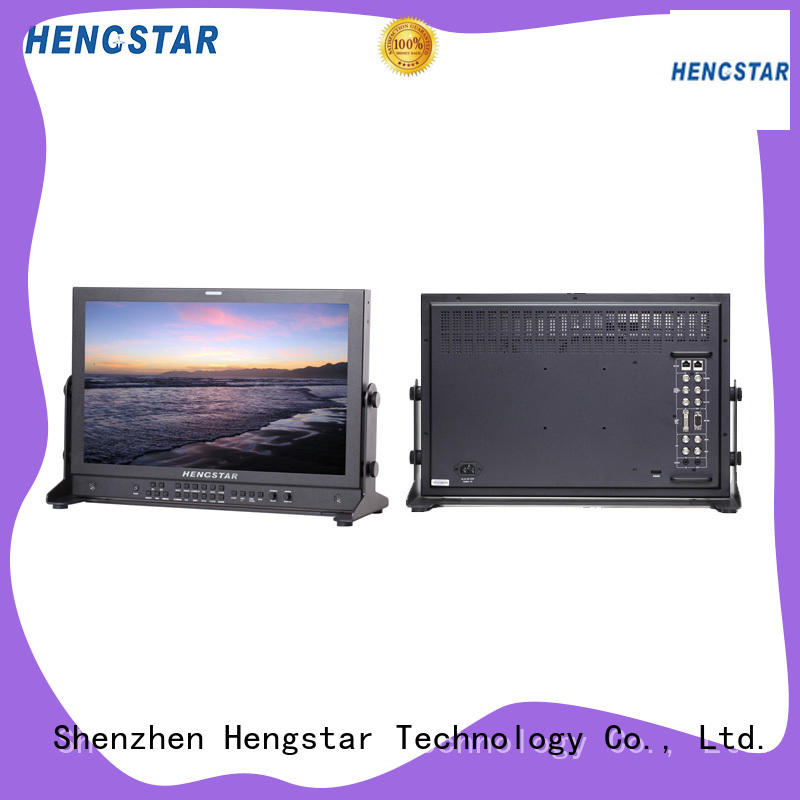 Hengstar reliable rack mount monitor from China for smart device