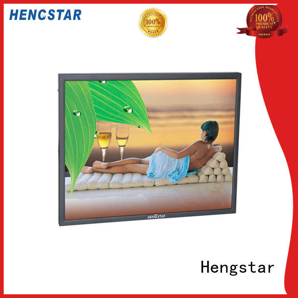 Hengstar cctv security monitor commercial factory for PC