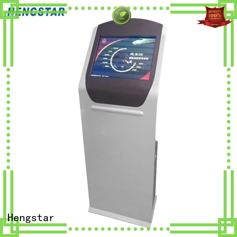 Hengstar information touch kiosk wholesale for tablet PC