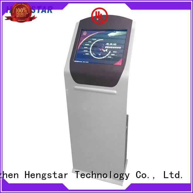 touchscreen information kiosk wholesale for smart device Hengstar