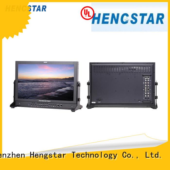 sdibroadcast oem Hengstar Brand broadcast monitor factory