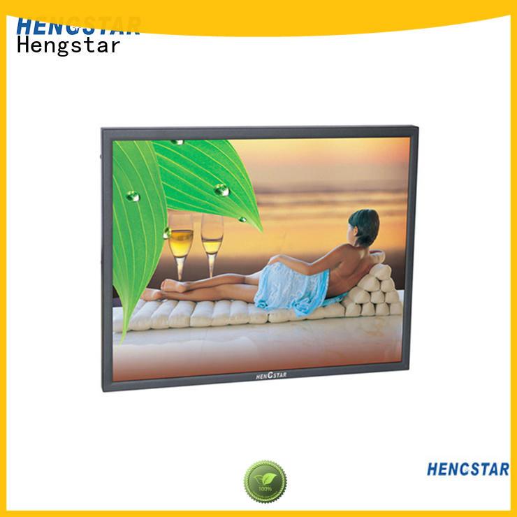 Hengstar Brand vgaavbnchd cctv bnc monitor professional factory