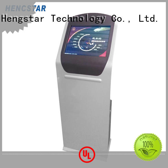 information kiosk display terminal for tablet PC Hengstar