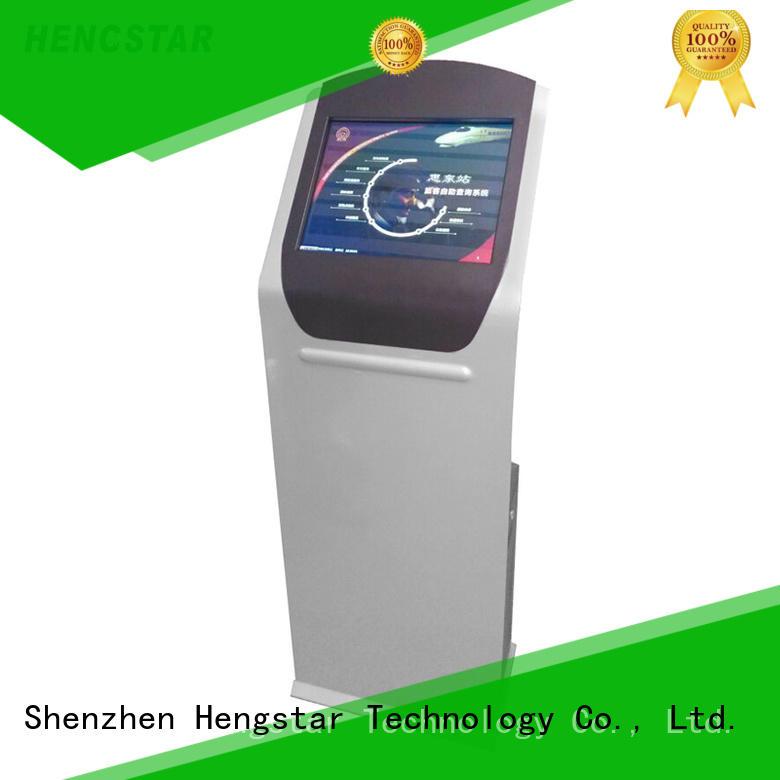 Custom touchscreen terminal touch kiosk Hengstar information