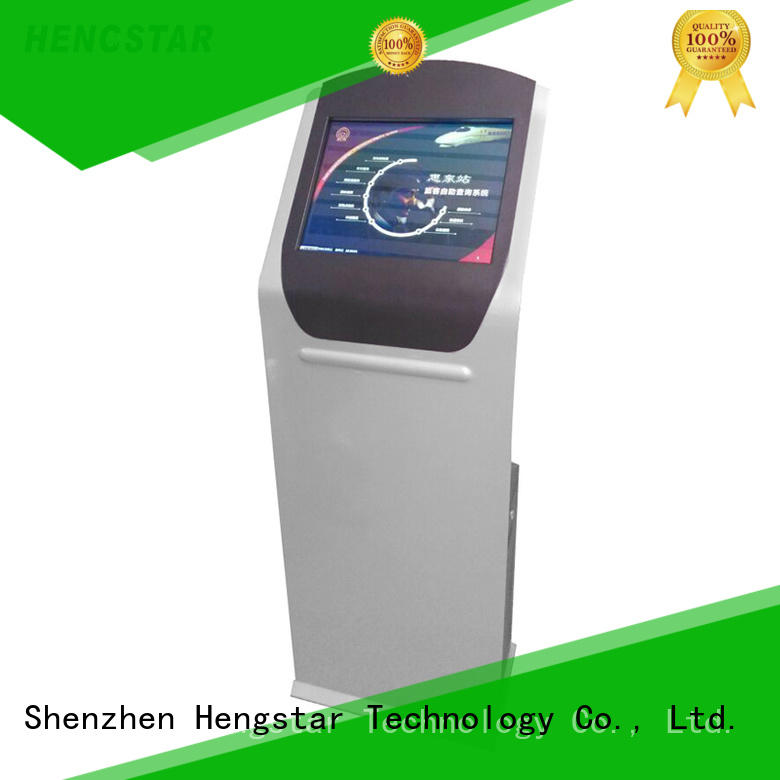 Custom touchscreen terminal touch kiosk Hengstar information