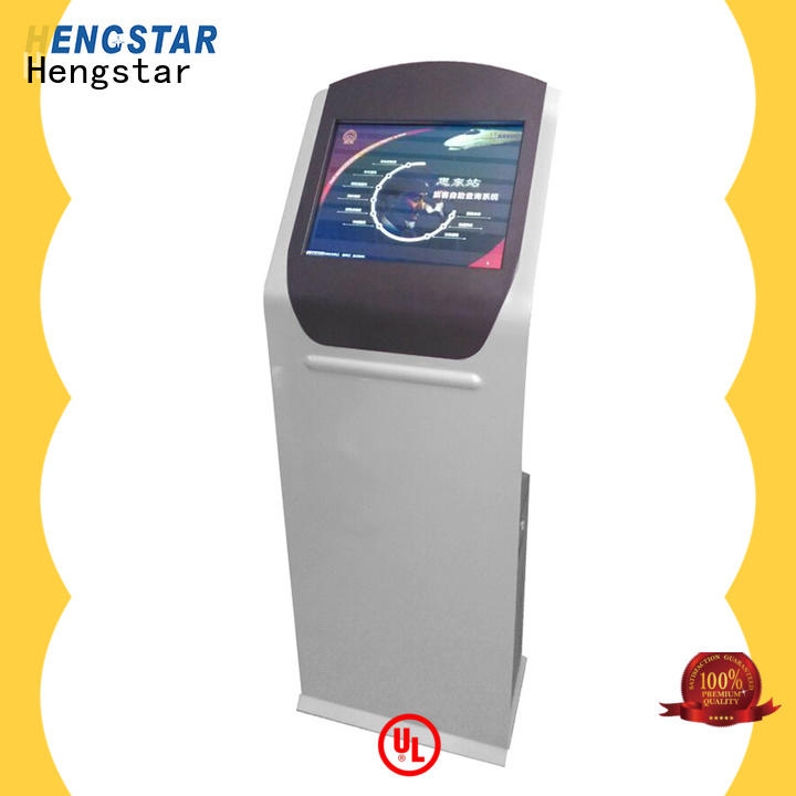Hengstar interactive touch screen kiosk factory price for smart device