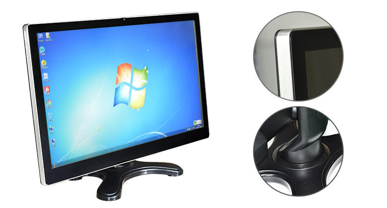 Hengstar -15 Touch Screen Monitor, Ultra Wide Flat Tft Lcd Screen Desktop Pc Monitor-2