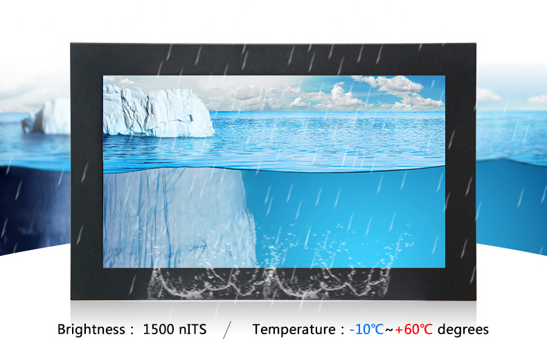 Hengstar -Outdoor High Bright Waterproof Lcd Monitor With Sunlight Readable | Waterproof
