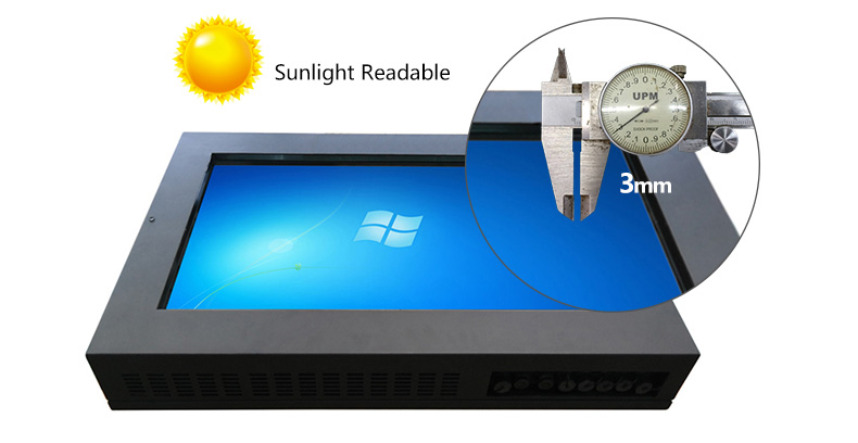 Hengstar -Outdoor High Bright Waterproof Lcd Monitor With Sunlight Readable | Waterproof-1