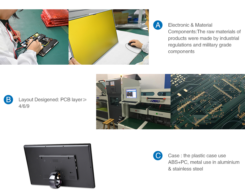 certificated lcd touch screen panel kit ips supplier for PC-11