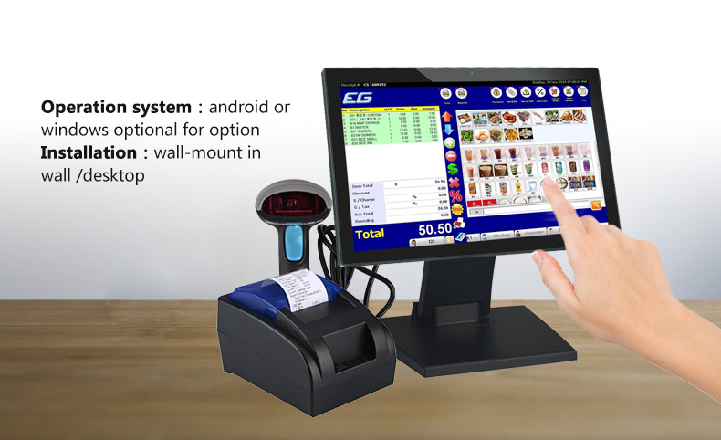 Hengstar -Industrial All In One Pc | Desktop All In One Pc Androidwindows Pos Terminalpos