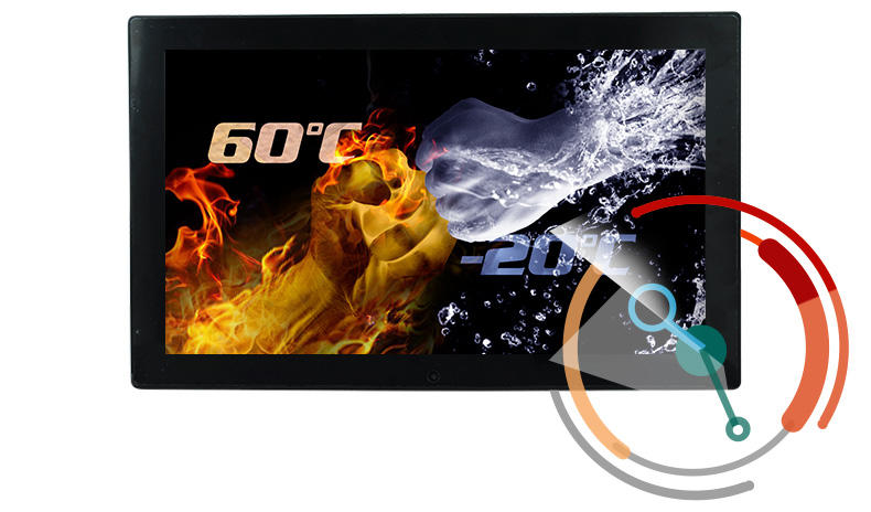 Hengstar industrial touch panel customized for PC