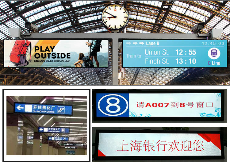 Hengstar lcd digital wall display for business for tablet PC