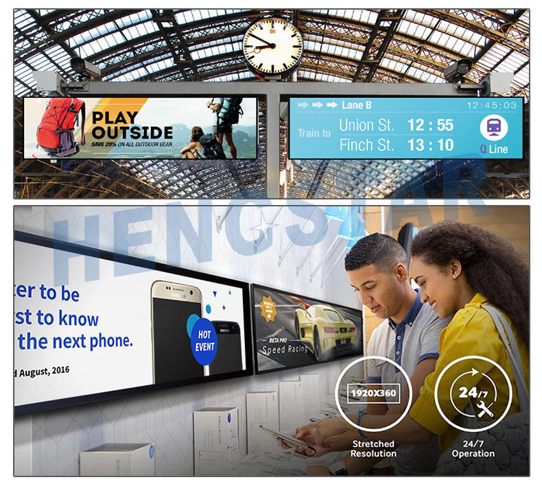Hengstar cost-effective touch screen digital signage with good price for computer