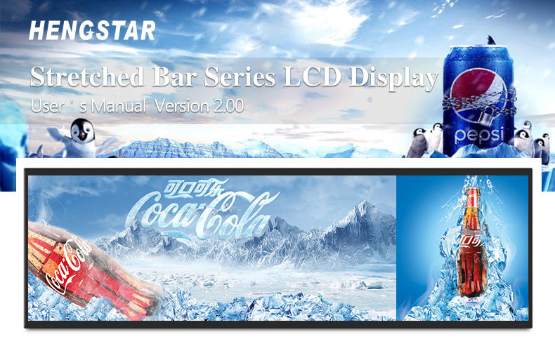 Hengstar cost-effective touch screen digital signage with good price for computer-1