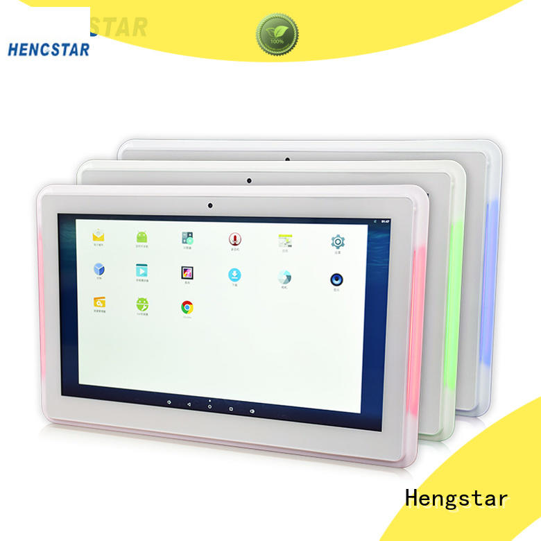 bar white POS tablet PC 1080p for tablet PC Hengstar