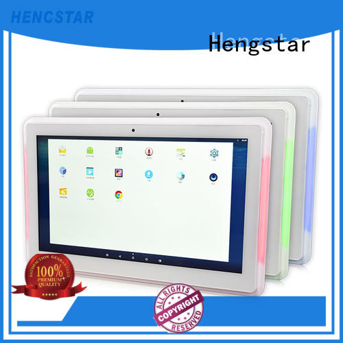 Hengstar 1080p white LCD monitor personalized for tablet PC