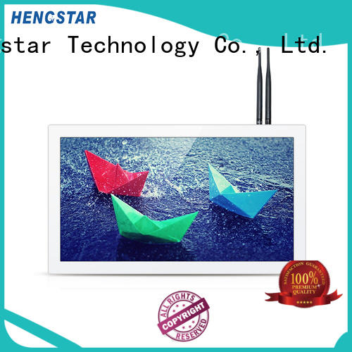 Hengstar professional white POS tablet PC personalized for PC