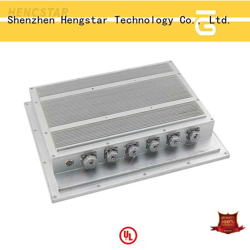 Hengstar screen white industrial touch panel computer factory price for PC