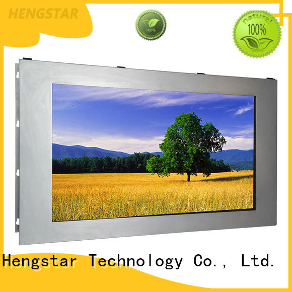 Big Size Sunlight Readable Touchscreen Lcd Monitor Ip65 Led Lcd Monitors With VGA+DVI inputs