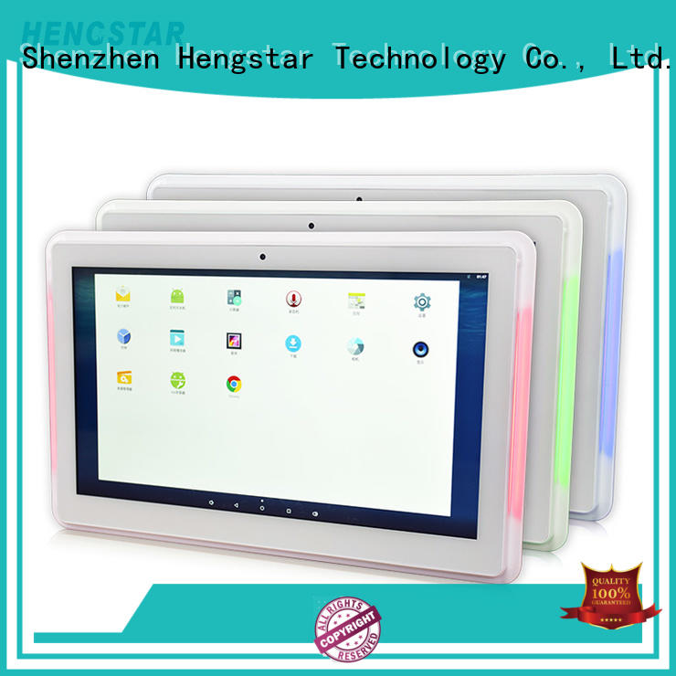 Hengstar sturdy white POS tablet PC personalized for smart device