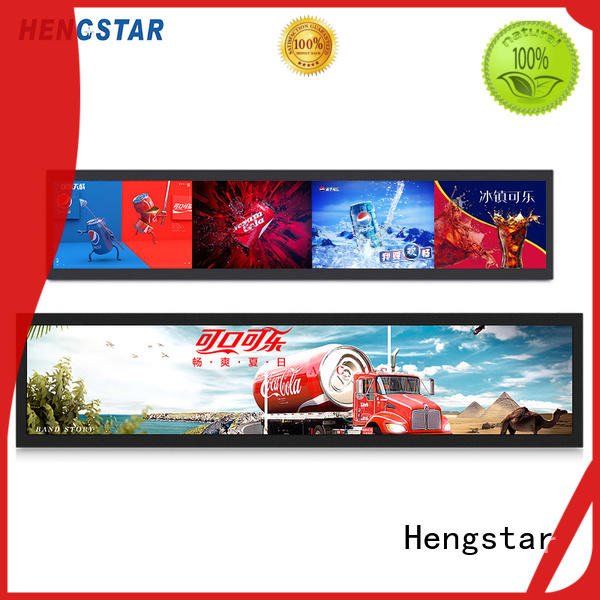 Hengstar top quality digital menu boards display for computer